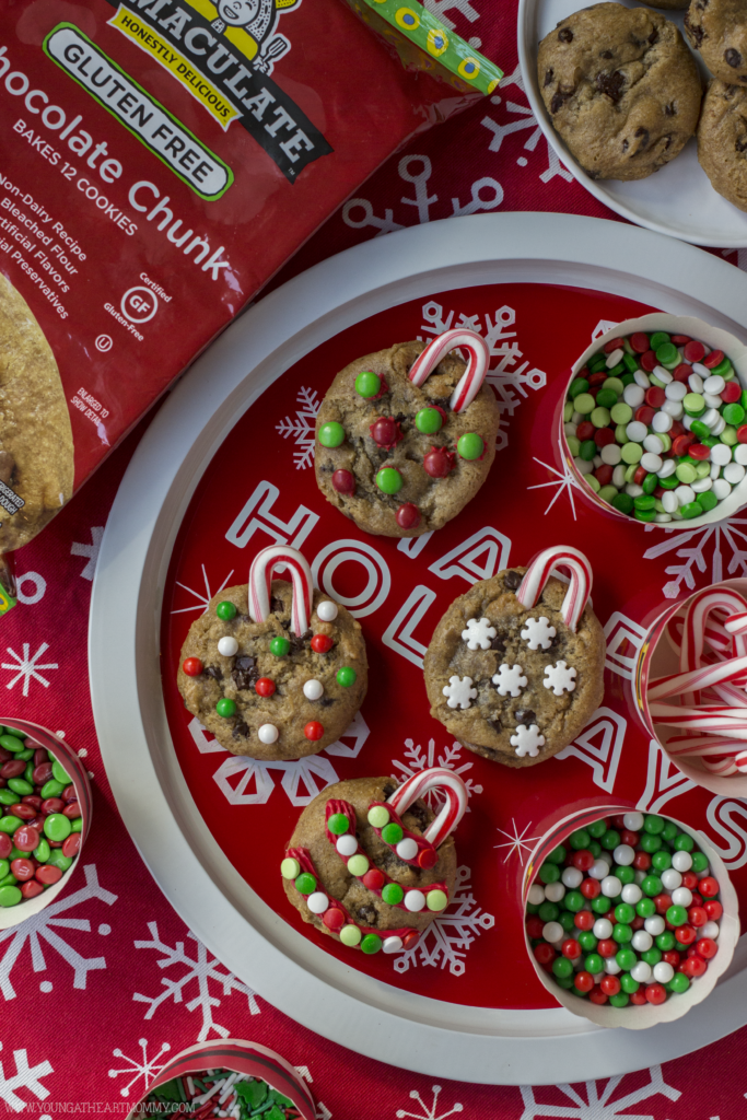Chocolate Chip Cookie Christmas Ornaments